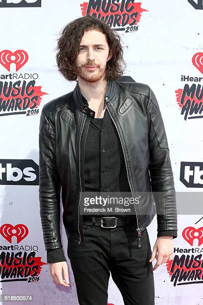 Singer Hozier attends the iHeartRadio Music Awards at The Forum on April 3 2016 in Inglewood California