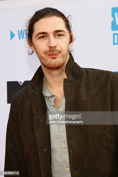 Singer Hozier attends WE Day Toronto at the Air Canada Centre on October 1 2015 in Toronto Canada