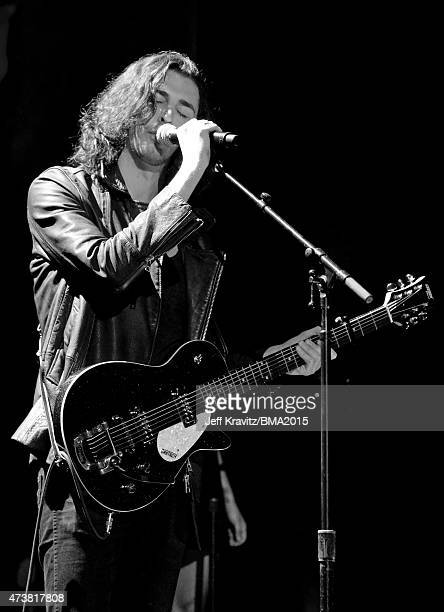 Singer Hozier performs onstage during the 2015 Billboard Music Awards at MGM Grand Garden Arena on May 17 2015 in Las Vegas Nevada