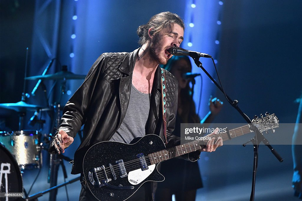Singer Hozier performs onstage during the VH1 Big Music in 2015: You Oughta Know Concert at The Armory Foundation on November 12, 2015 in New York City.