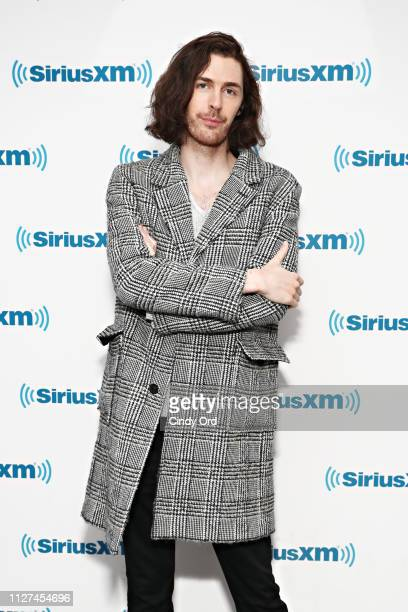 Singer Hozier visits the SiriusXM Studios on February 25, 2019 in New York City.