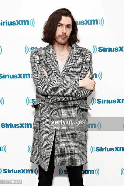 Singer Hozier visits the SiriusXM Studios on February 25 2019 in New York City