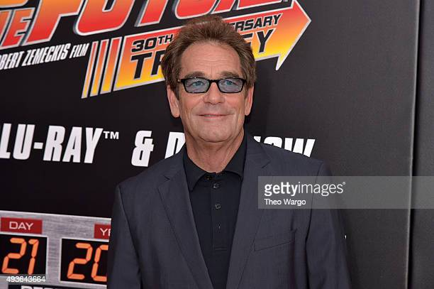 Singer Huey Lewis attends the Back To The Future New York special anniversary screening at AMC Loews Lincoln Square on October 21 2015 in New York...
