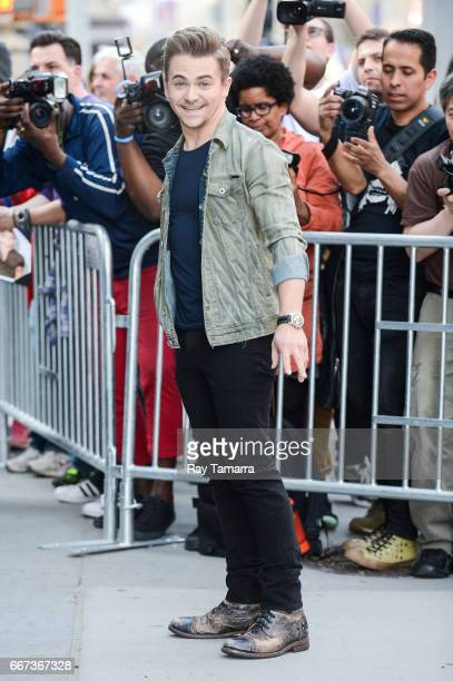 Singer Hunter Hayes enters the AOL Build taping at the AOL Studios on April 11 2017 in New York City