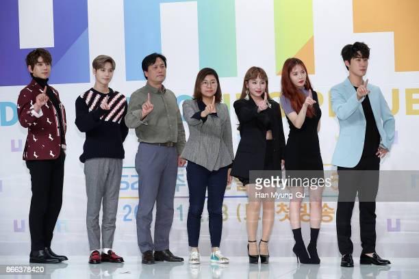 Singer Hwang ChiYeul aka Chiyeul Hwang Taemin of South Korean boy band SHINee Jo HyunA aka Jo Hyuna of Urban Zakapa HyunA of South Korean girl group...