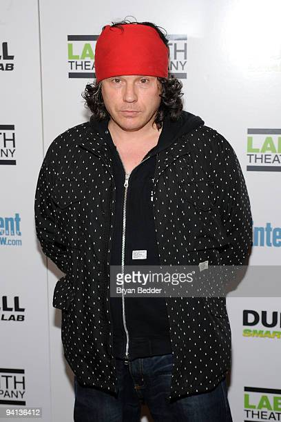 Singer Ian Astbury attends LAByrinth Theater Company's 6th Annual Gala Benefit at St Paul The Apostle Church on December 7 2009 in New York City