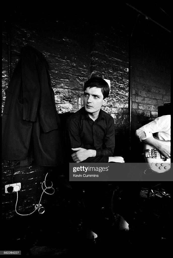 Ian Curtis At Joy Division Rehearsal : News Photo