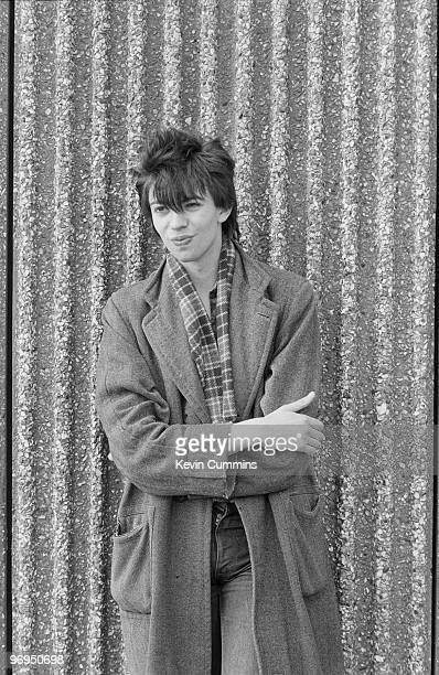 Singer Ian McCulloch of British band Echo and the Bunnymen in Liverpool England on July 15 1979