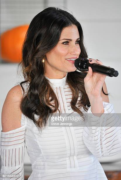 Singer Idena Menzel performs on Day 3 of Live In The Vineyard at Liana Estates Winery on November 6 2016 in Napa California