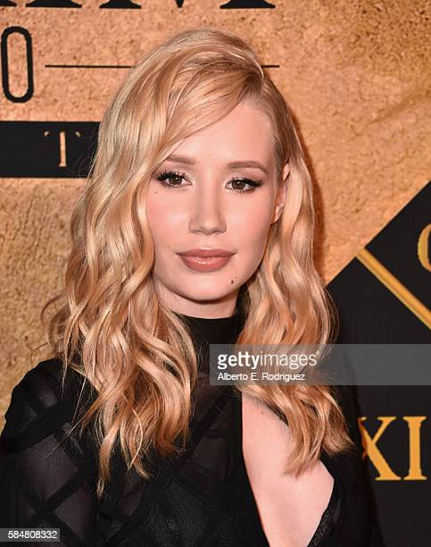 Singer Iggy Azalea attends the Maxim Hot 100 Party at the Hollywood Palladium on July 30 2016 in Los Angeles California