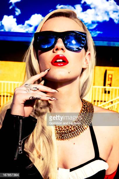 Singer Iggy Azalea is photographed for Blank Magazine on March 4 2013 in Los Angeles California COVER IMAGE