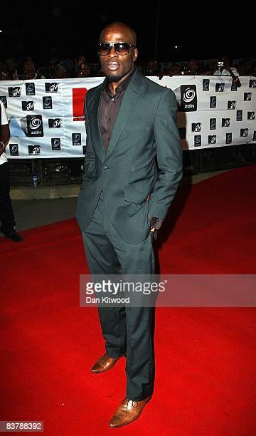 Singer Ikechukwu arrives for the MTV Africa Music Awards 2008 at the Abuja Velodrome on November 22, 2008 in Abuja, Nigeria.