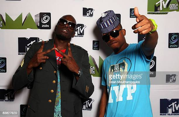 Singer Ikechukwu poses backstage at the MTV Africa Music Awards 2008 at the Abuja Velodrome on November 22, 2008 in Abuja, Nigeria.
