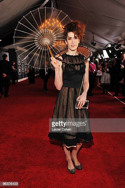 Singer Imogen Heap arrives at the 52nd Annual GRAMMY Awards held at Staples Center on January 31 2010 in Los Angeles California