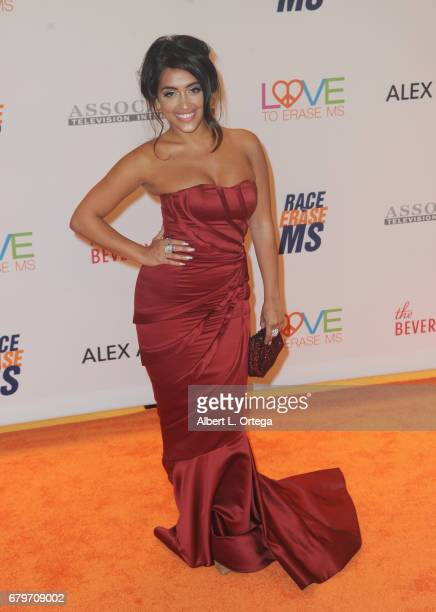 Singer Inas X arrives for the 24th Annual Race To Erase MS Gala held at The Beverly Hilton Hotel on May 5 2017 in Beverly Hills California