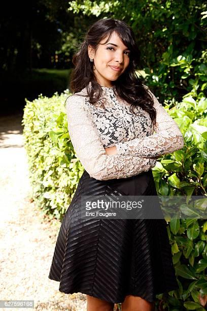 Singer Indila Photographed in PARIS