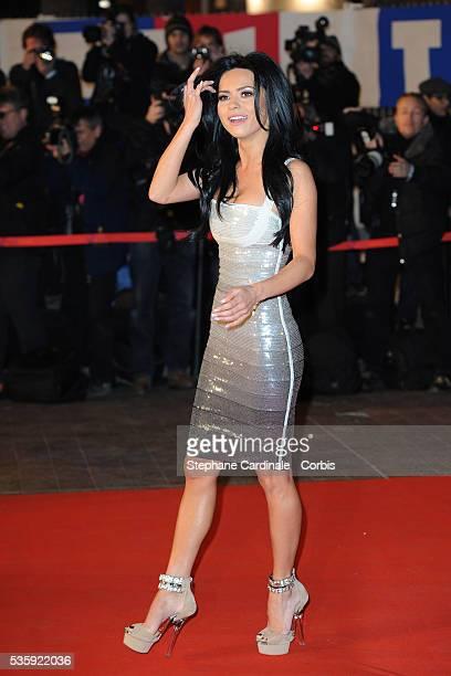 Singer Inna attends the NRJ Music Awards 2011 at the Palais des Festivals et des Congres in Cannes