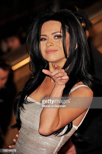 Singer Inna attends the NRJ Music Awards 2011 on January 22 2011 at the Palais des Festivals et des Congres in Cannes France