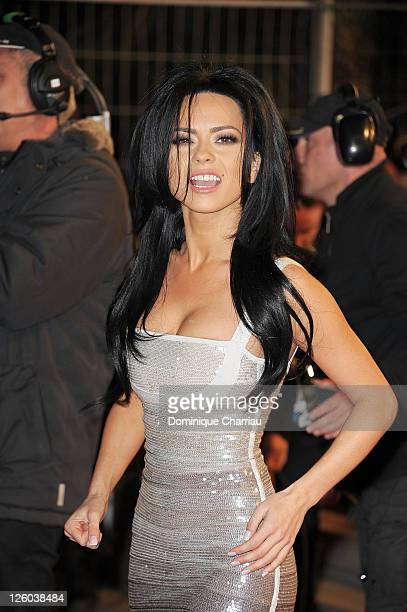 Singer Inna attends the NRJ Music Awards 2011 on January 22 2011 in Cannes France