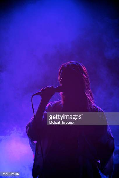 Singer Ioanna Gika of Io Echo performs at the Sound Academy in Toronto