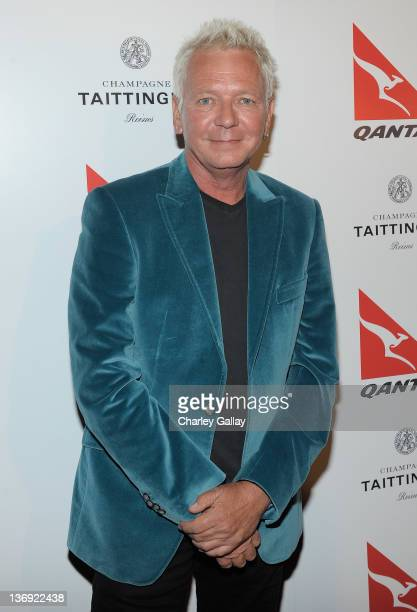 Singer Iva Davies attends the Qantas Airways Spirit of Australia Party at the Hollywood Roosevelt Hotel on January 12 2012 in Hollywood California