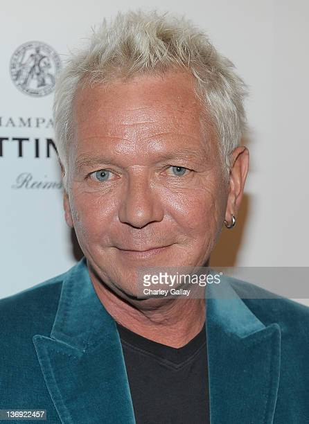 Singer Iva Davies attends the Qantas Airways Spirit of Australia Party at the Hollywood Roosevelt Hotel on January 12, 2012 in Hollywood, California.