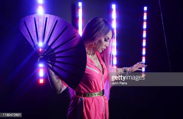 Singer Ivy Queen poses for a portrait on March 1 2019 in Miami Florida