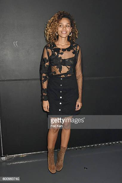 Singer Izzy Bizu performs during Ma Terrazza Party Day one at the Flow on September 8 2016 in Paris France