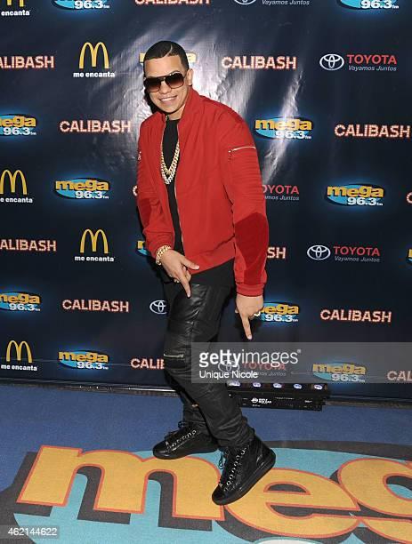 Singer J Alvarez attends the Mega 963 Calibash at Staples Center on January 24 2015 in Los Angeles California