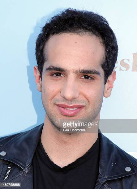 Singer Jaafar attends the screening of Mance Media's 'The Young Kieslowski' at the Vista Theatre on July 14 2015 in Los Angeles California