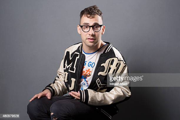 Singer Jack Antonoff poses for a portrait at the Logo TV's 'Trailblazers' at the Cathedral of St John the Divine on June 25 2015 in New York City