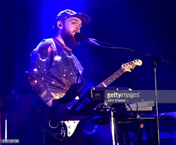 Singer Jack Garratt performs at The Creators Party Presented by Spotify Cicada Los Angeles at Cicada on February 13 2016 in Los Angeles California