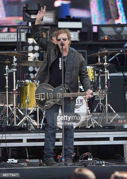 Singer Jack Ingram performs onstage during the ATT Block Party at NCAA March Madness Music Festival Day 1 at Reunion Park on April 4 2014 in Dallas...