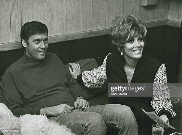 Singer Jack Jones and actress Jill St John attend Jack Jones Opening on February 1 1968 at the Copacabana in New York City