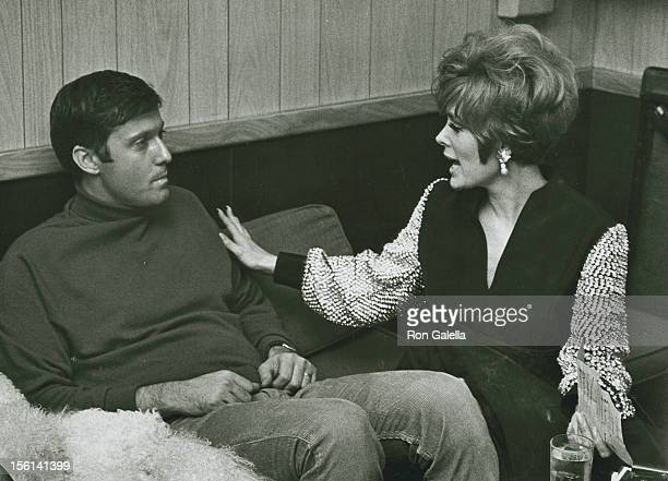 Singer Jack Jones and actress Jill St John attend Jack Jones Opening on February 1 1968 at the Copacabana in New York City