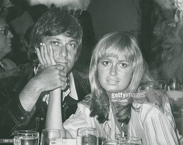 Singer Jack Jones and actress Susan George attend Third Annual Straw Hat Awards on May 16 1972 at Tavern on the Green in New York City