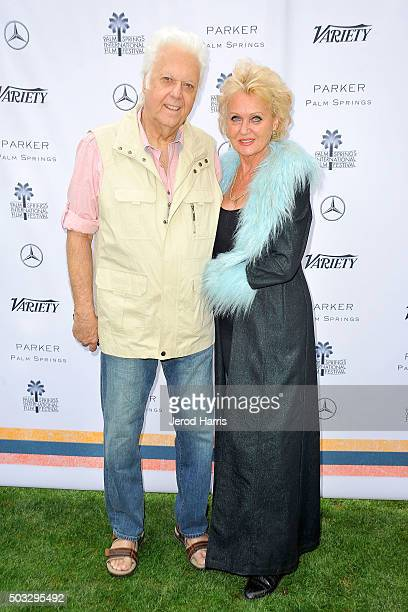 Singer Jack Jones and Eleonora Jones attend Variety's Creative Impact Awards and 10 Directors To Watch Brunch at the Parker Palm Springs on January 3...