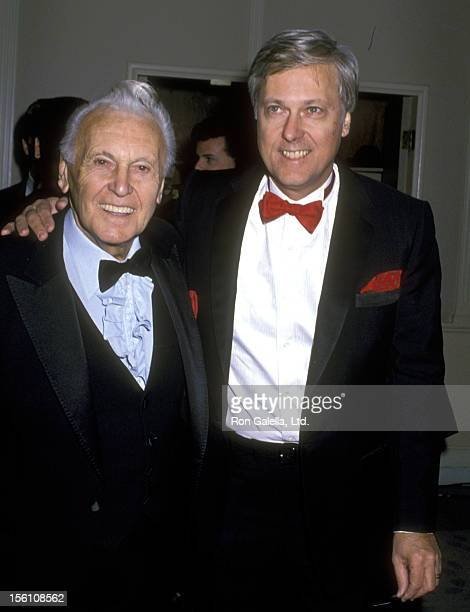 Singer Jack Jones and father Actor Allan Jones attend the Sixth Annual American Cinema Awards on January 6 1989 at Beverly Hilton Hotel in Beverly...