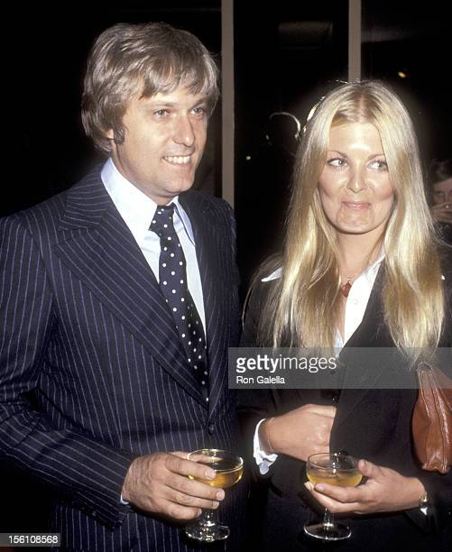 Singer Jack Jones and guest attend 'A Tribute to Joan Crawford' An IndustryWide Celebration in Film and Fond Memories on June 24 1977 at Samuel...