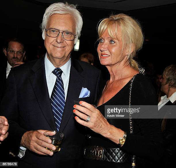 Singer Jack Jones and his wife Eleonora attend Ed McMahon's memorial service hosted by NBC held at the Academy of Television Arts Sciences on July 1...
