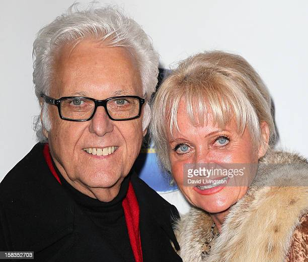 Singer Jack Jones and wife Eleonora Jones attend a screening of Saving Grace B Jones at the ICM Screening Room on December 13 2012 in Los Angeles...