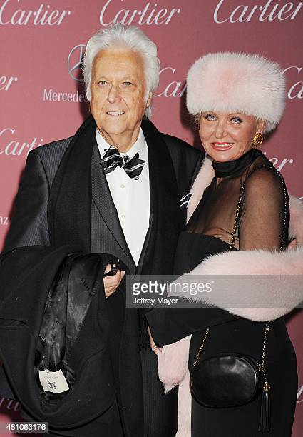 Singer Jack Jones and wife Eleonora Jones attend the 26th Annual Palm Springs International Film Festival Awards Gala at the Palm Springs Convention...