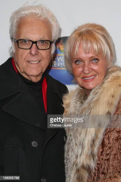 Singer Jack Jones and wife Eleonora Jones attend the screening of Saving Grace B Jones at ICM Screening Room on December 13 2012 in Century City...