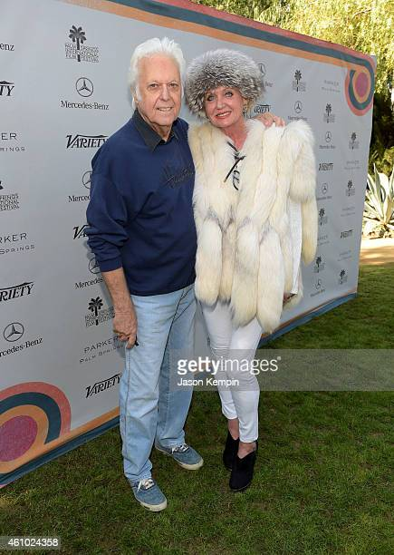 Singer Jack Jones and wife Eleonora Jones attend Variety's Creative Impact Awards and 10 Directors To Watch brunch presented by Mercedes Benz at...