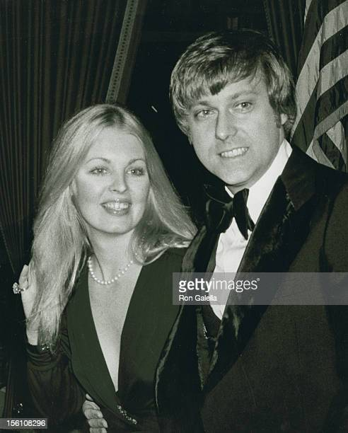 Singer Jack Jones and wife Kathy Simmons attend 34th Annual Golden Globe Awards on January 29 1977 at the Beverly Hilton Hotel in Beverly Hills...