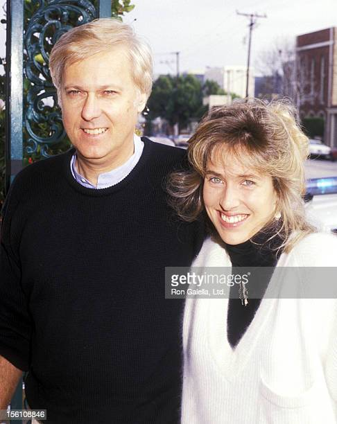 Singer Jack Jones and wife Kim Ely attend Pierre Cossette's Viewing Party for Super Bowl XXII Washington Redskins vs Denver Broncos on January 31...