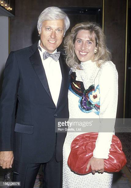 Singer Jack Jones and wife Kim Ely attend the 31st Annual Thalians Ball on October 11 1986 at Century Plaza Hotel in Los Angeles California