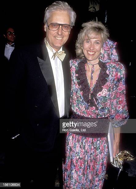 Singer Jack Jones and wife Kim Ely attend the Fourth Annual Entertainment Industry Council Awards on April 12 1989 at Century Plaza Hotel in Los...