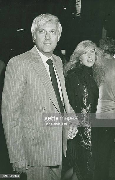 Singer Jack Jones and wife Kim Ely attend the premiere of 'Stayin' Alive' on July 11 1983 at Mann Chinese Theater in Hollywood California