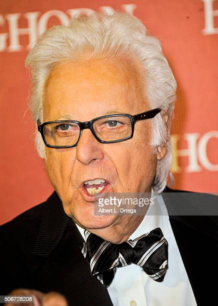 Singer Jack Jones arrives for the 27th Annual Palm Springs International Film Festival Awards Gala held at Palm Springs Convention Center on January...